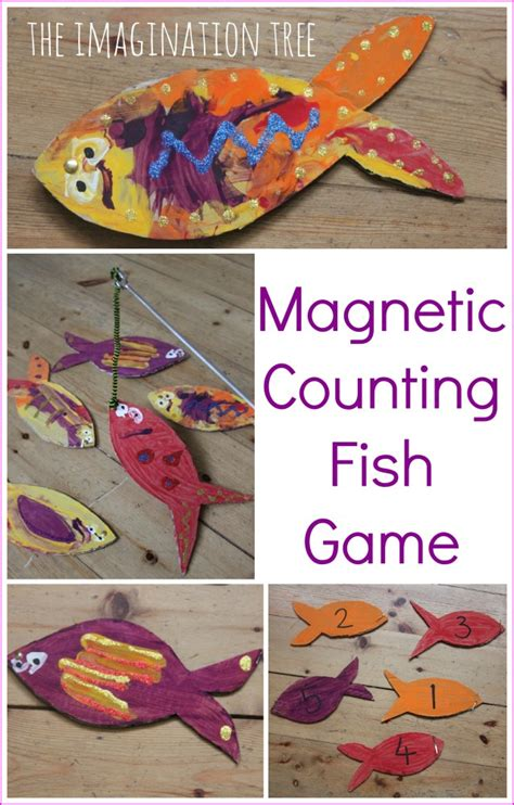 20 counting activities for preschoolers the imagination tree 210 | Magnetic counting fish game for preschoolers 638x1000