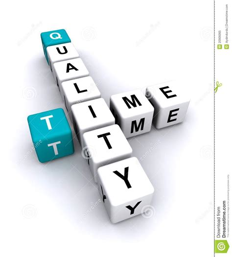 quality time letters royalty free stock photo image