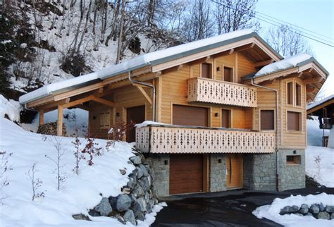 les gets newly built 4 bedroom chalet for sale