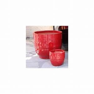 Pot En Terre Cuite émaillée : pot en terre cuite maill e rebord coquelicot d52 ~ Dailycaller-alerts.com Idées de Décoration
