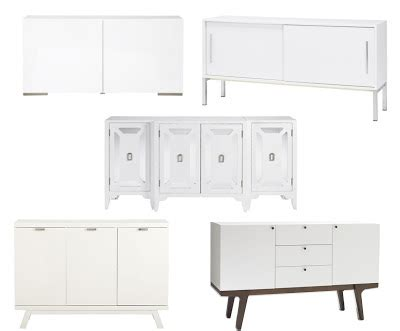 Torsby Sideboard by Swanky Swell White Buffet Almost 500