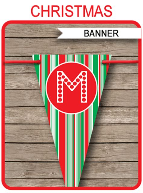 christmas banner template merry christmas banner