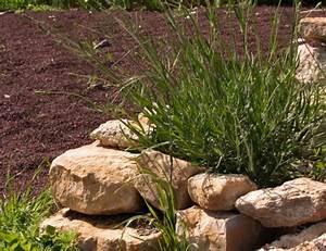 emejing allee de jardin en pouzzolane gallery design With ordinary idee deco jardin gravier 11 3 idees pour amenager son allee de jardin travaux