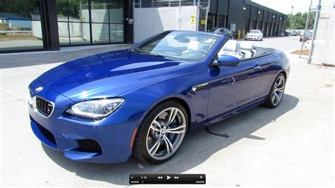 2012 Bmw M6 Convertible Start Up Exhaust And In Depth