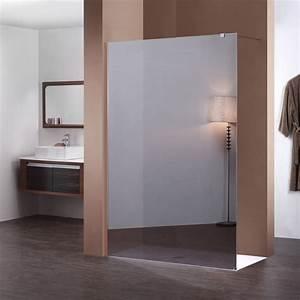 Miroir 160 Cm : paroi fixe miroir de 160 cm pour douche de salle de bain ~ Teatrodelosmanantiales.com Idées de Décoration