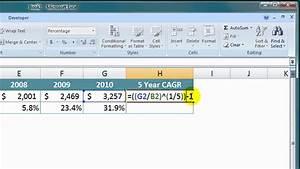 Cagr Berechnen Excel : cagr berechnen ~ Themetempest.com Abrechnung
