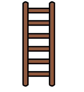 Ladder clipart - Clipart Collection | [discuss ladders ...