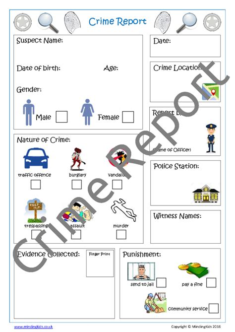free crime reports people who help us activity pack inc activity plans
