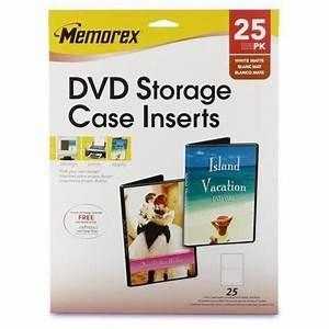 Memorex Case Template Memorex Dvd Case Inserts Ebay
