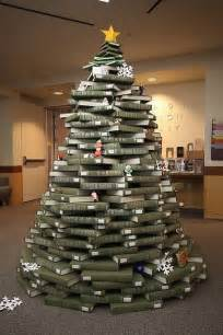 by the book a tree created entirely out of books