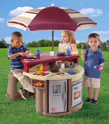rise and shine kitchen step2 grill and play patio cafe 58 17 reg 129 Step2