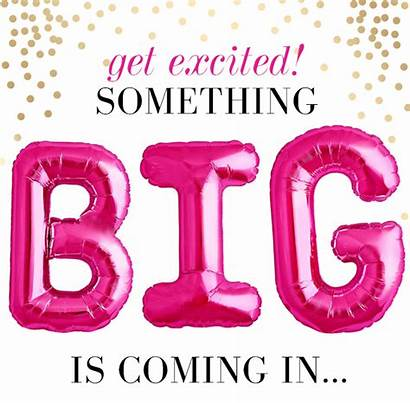 Soon Coming Kay Mary Excited