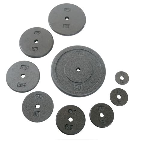 cap barbell standard  weight plate   gray weight plates weight grey plates