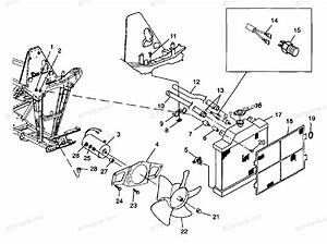 Polaris Atv 1998 Oem Parts Diagram For Cooling System