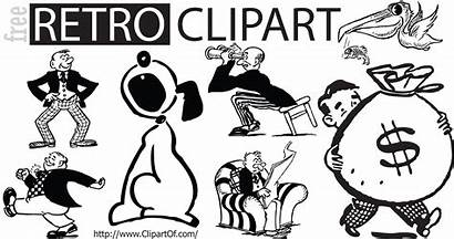 Retro Vector Clipart Fifties Illustrations