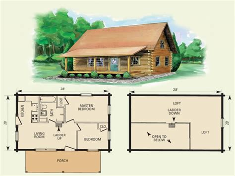Small Log Cabin Homes Floor Plans Small Rustic Log Cabins
