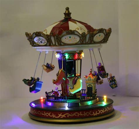 christmas decoration  led xmas musical rotating ferris