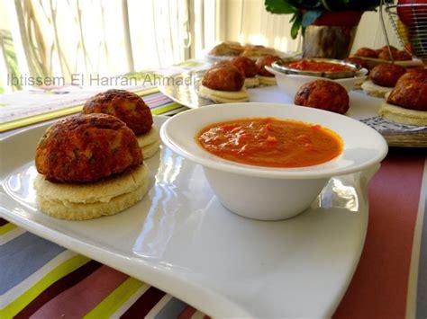 cuisine tunisienne ramadan mbatten brouklou sans viande au four revisité boulettes