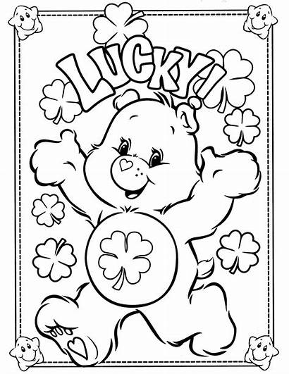 Coloring Bear Pages Care Printable