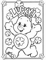 Coloring Bear Pages Care Printable sketch template