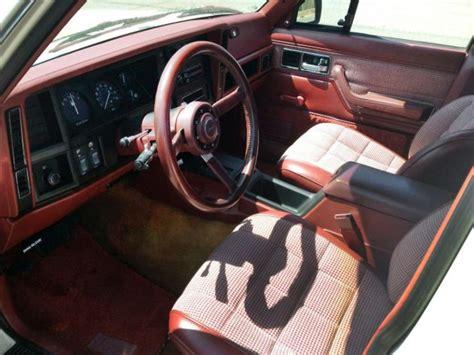 1986 jeep comanche interior rust free 2wd 1986 jeep comanche xls