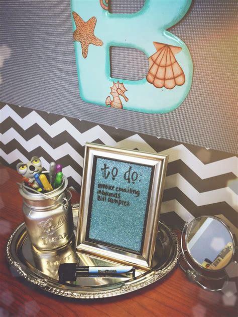 diy desktop dry erase board diy desk decor cubicle