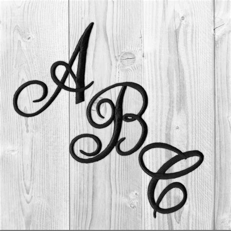 embroidered iron  script letters sold separately  white black  red ebay