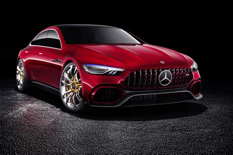 Mercedes New Cars by Mercedes Amg Gt Concept A Cross Town Rival To The Porsche