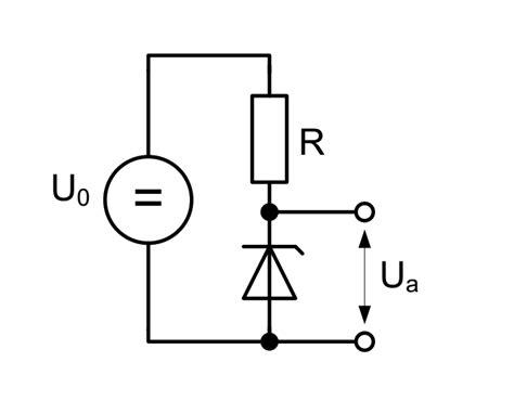 schaltung mit zener diode mikrocontrollernet