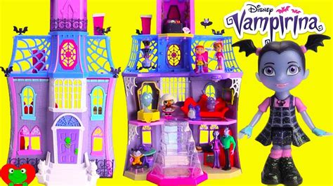 vampirina doll house scare bb  glitter lol surprise