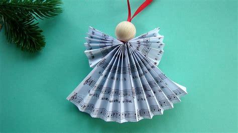 Weihnachtsdeko Papier Basteln by Weihnachtsengel Basteln Diy Weihnachtsdeko