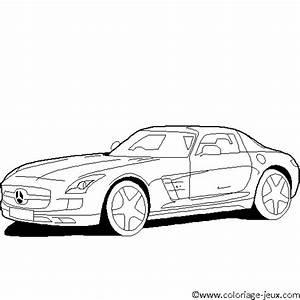 Jeux De Voiture Mercedes : coloriage mercedes imprimer ~ Medecine-chirurgie-esthetiques.com Avis de Voitures