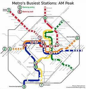 Where Are Metro's Busiest Routes and Stations?