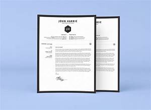Professional Resume Cover Letter Template Free Clean Resume Cv Cover Letter Template In Word Psd