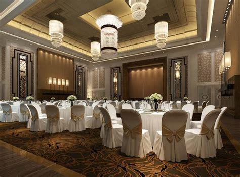 model bar counter modern banquet hall cgtrader