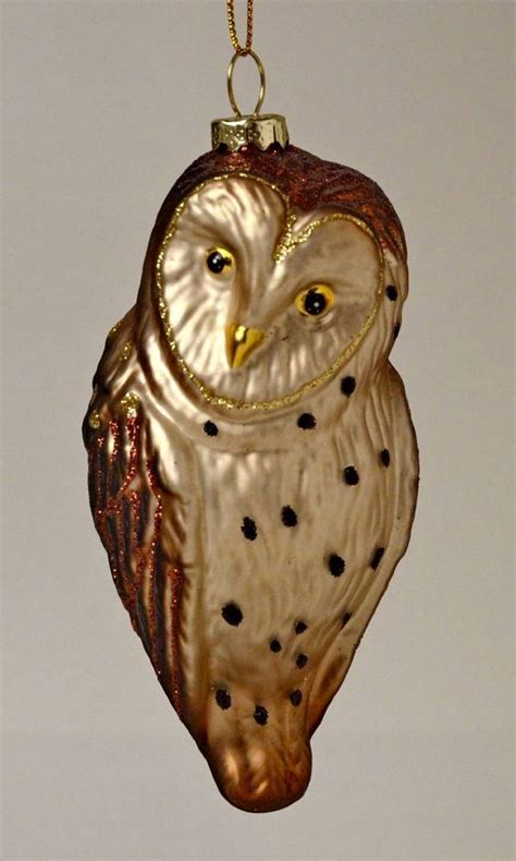 171 best owl christmas glass ornament uil kerstballen