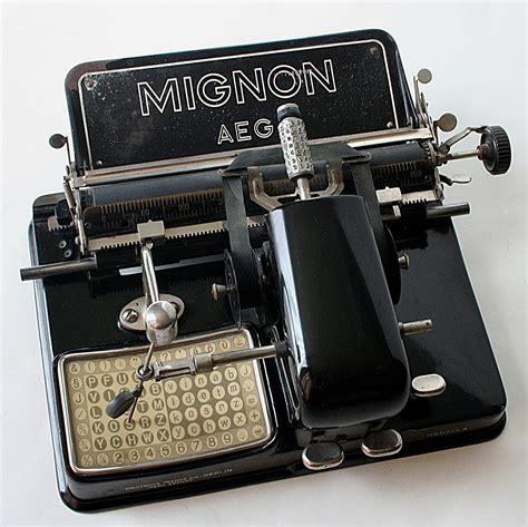Alte Schreibmaschinen Wert by File Mignon Mod 4 Bj 1924 Jpg Wikimedia Commons