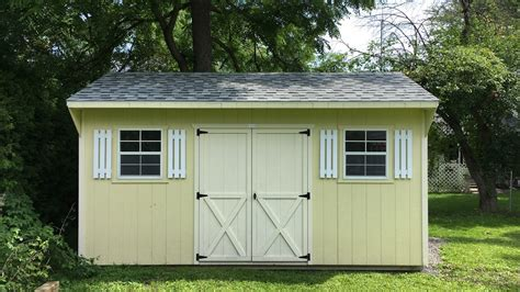 Shed For Sale Ottawa by 8 X 10 Sheds 187 Country Sheds