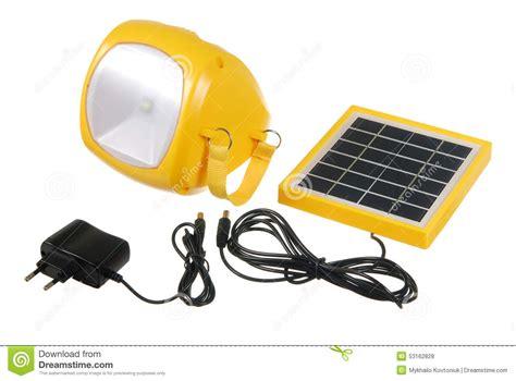 le torche 233 e avec le mini panneau solaire photo stock image 53162828