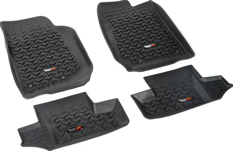 Quadratec Vs Rugged Ridge Floor Liners by Rugged Ridge Floor Liner Kit For 14 16 Jeep 174 Wrangler Jk 2