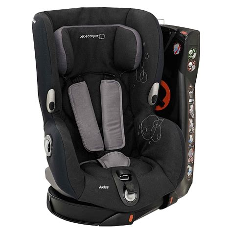 siege auto allongeable bebe confort axiss total black