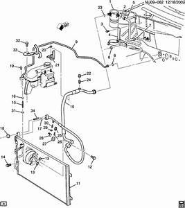 2002 Pontiac Sunfire A  C Refrigeration System