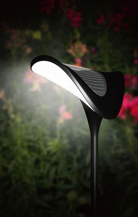 solar garden path lighting stylish solar powered lighting