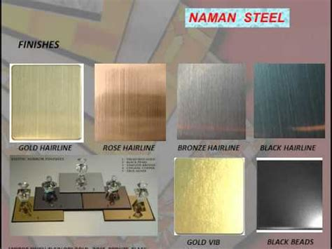 ti color stainless steel sheets   metal colors
