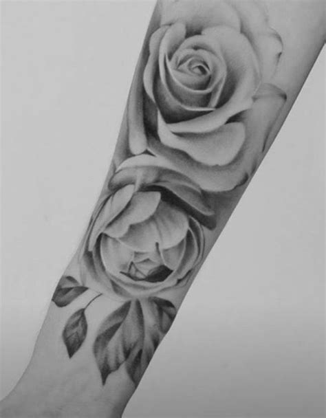 Flowers | Rose tattoos for women, Realistic rose tattoo, Rose tattoos