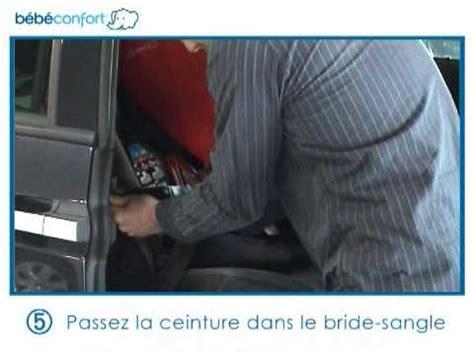 installation siege auto vidéo d 39 installation du siège auto iséos neo de bébé