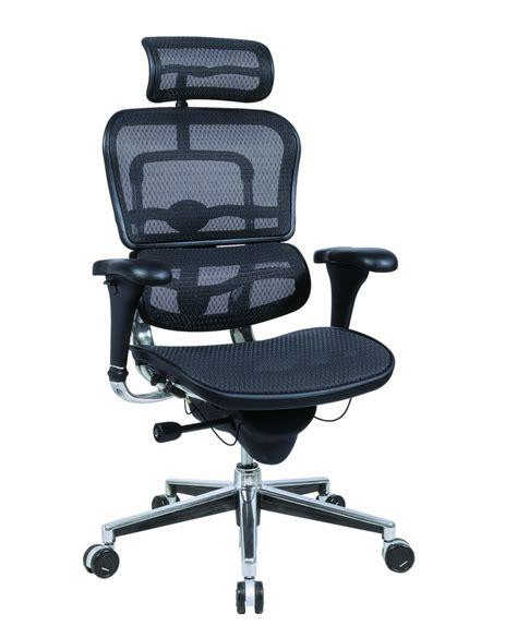 ergonomic desk chair ergohuman mesh executive office chair welnis