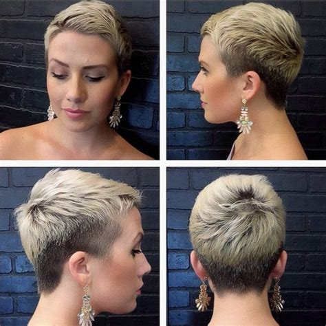 Darker Hair Styles by Blond Hairstyle With Darker Trimmered Sides And