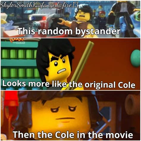 The Lego Movie Meme - it should be than not then cole pinterest lego ninjago lego and ninjago memes