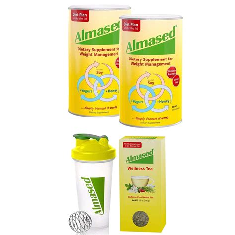 Almased Meal Replacement Shakes -Soy Protein Powder for